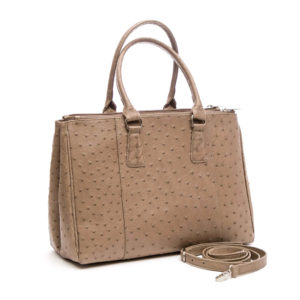 Ostrich Leather Bag Piper Handbags