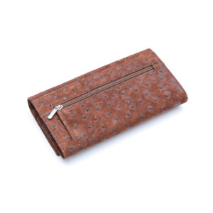 Ostrich Leather Purse Small Leather