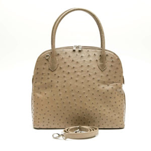 Ostrich Leather Bag Fay