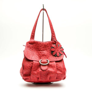 Ostrich Leather Bag Daisy