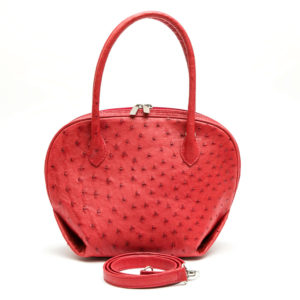 Ostrich Leather Bag Mirtha