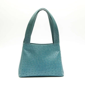 Ostrich Leather Bag Adette