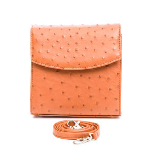 Ostrich Leather Bag Thana