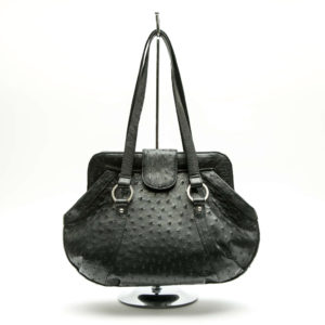 Ostrich Leather Bag Belinda