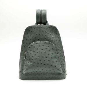 Ostrich Leather Backpack Jana