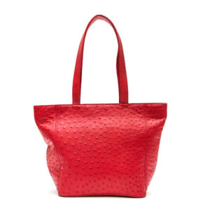 Ostrich Leather Bag Cara