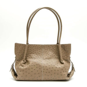 Ostrich Leather Bag Abey