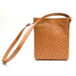 Ostrich Leather Bag Magdalena Small