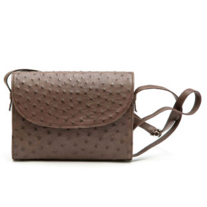 Ostrich Leather Bag Jill