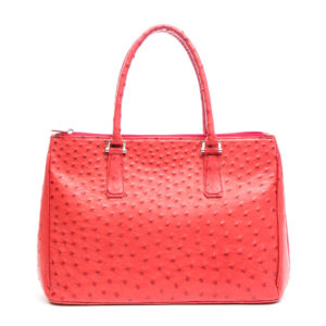 Ostrich Leather Bag Tary
