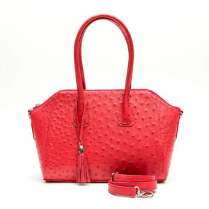 Ostrich Leather Bag Mabel