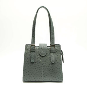 Ostrich Leather Bag Alisha