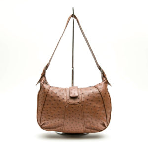 Ostrich Leather Bag Dawn
