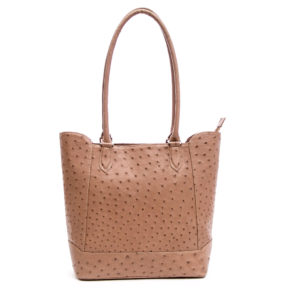 Ostrich Leather Bag Zady
