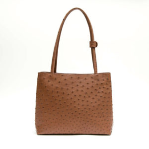 Ostrich Leather Bag Leani