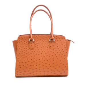 Ostrich Leather Bag Traci