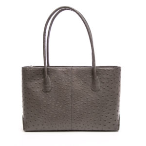 Ostrich Leather Bag Timia
