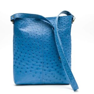 Ostrich Leather Bag Magdalena