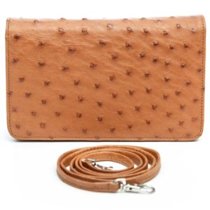 Ostrich Leather Bag Lillie