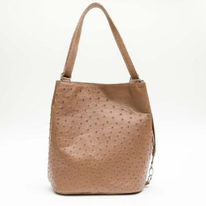 Ostrich Leather Bag Italian