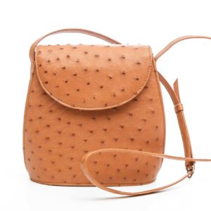 Ostrich Leather Bag Cami