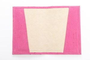 Cyclamen - Ostrich Leather Passport Cover