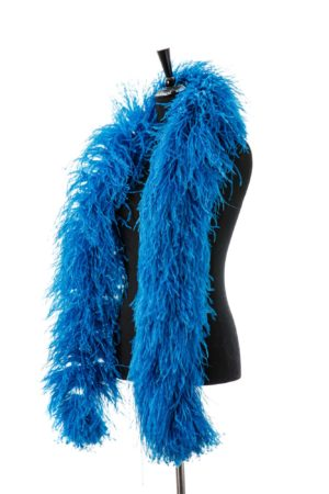 Turquoise Dark - Ostrich Feather Boa 8ply