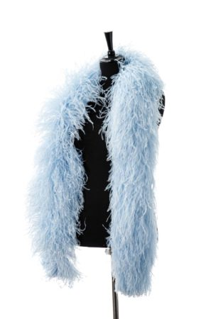 Baby Blue - Ostrich Feather Boa 8ply