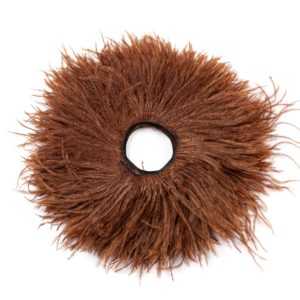 Brown - Ostrich Feather Fringing