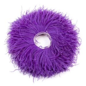 Purple - Ostrich Feather Fringing