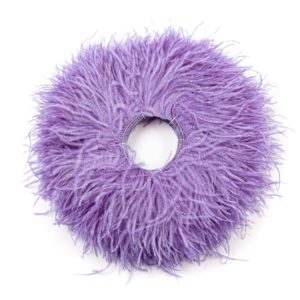 Lilac - Ostrich Feather Fringing