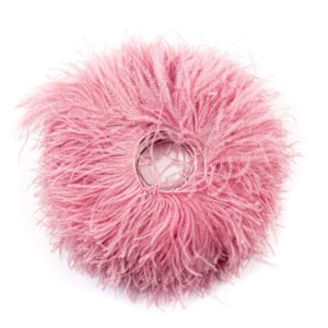 Mauve - Ostrich Feather Fringing