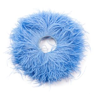 Sky Blue - Ostrich Feather Fringing