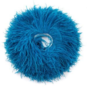 Turquoise Dark - Ostrich Feather Fringing
