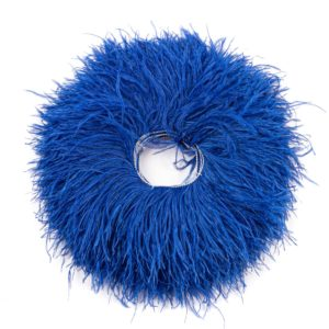 Royal Blue - Ostrich Feather Fringing