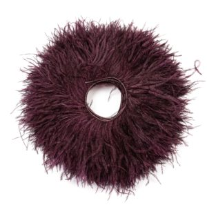 Grape - Ostrich Feather Fringing