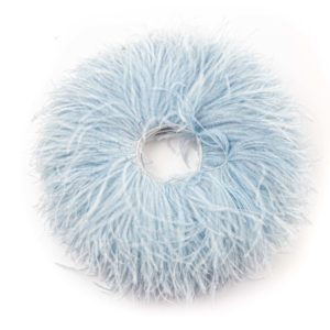 Baby Blue - Ostrich Feather Fringing