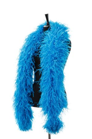 Turquoise Light - Ostrich Feather Boa 8ply