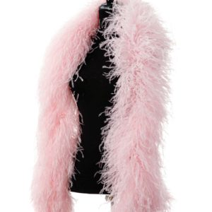 Baby Pink - Ostrich Feather Boa 8ply