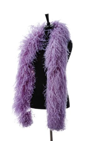 Lilac - Ostrich Feather Boa 8ply
