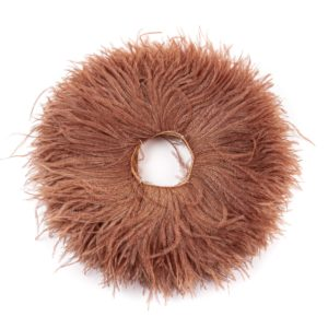 Sable - Ostrich Feather Fringing