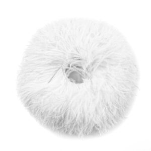 Ivory - Ostrich Feather Fringing
