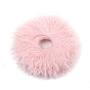 Baby Pink - Ostrich Feather Fringing