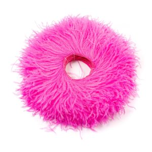 Bright Pink - Ostrich Feather Fringing
