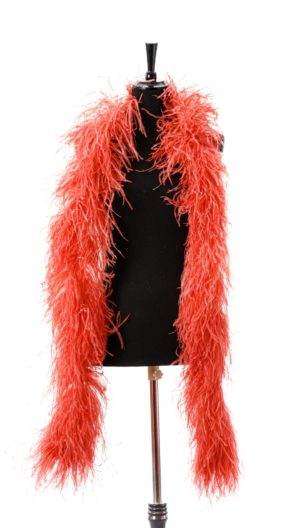 Rose Pink - Ostrich Feather Ruche