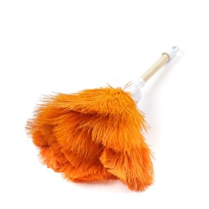 Orange - Ostrich Feather Toy Duster