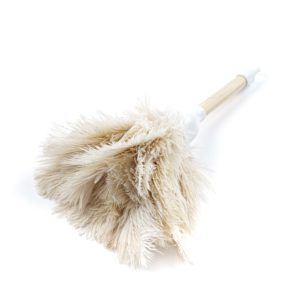 Okapi Cream - Ostrich Feather Toy Duster