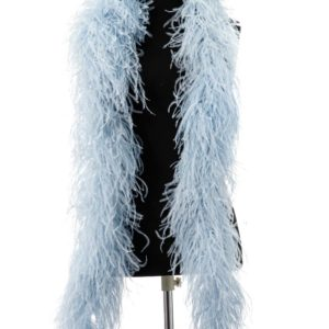 Baby Blue - Ostrich Feather Ruche